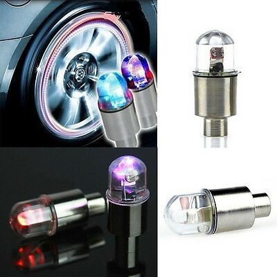 Car Vehicle Wheel LED Light Valve Lamp Car Decoration Colorful Flashing LED Bulb