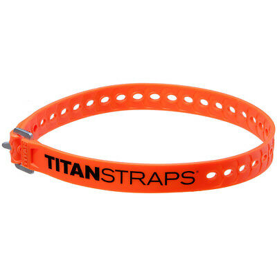 "NEW TitanStraps Industrial Strength Tie Down Strap 25"" Long Orange Super Strap"