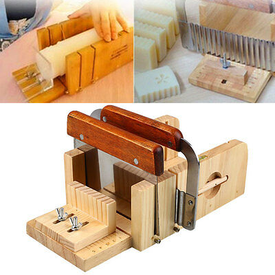 3pcs Professional Adjustable Handmade Soap Mold Cutter Slicer Tools Kits Set