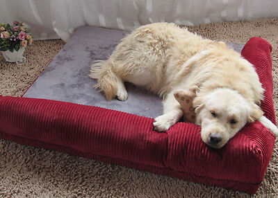 Comfortable Large Pet Dog Cat Sofa Bed House Cushion Mat Kennel Pad House New