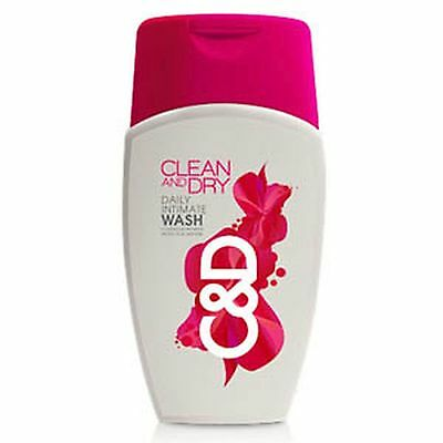 Clean And Dry Intimate Vaginal Wash 100Ml Prevents Infection Discharge