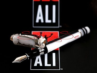 Montegrappa Mohammad Ali Füller Fountain Pen Limited Edition 925 Sterling-Silber