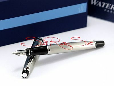 Waterman Expert Füller Fountain Pen New Generation Edelstahl Palladium