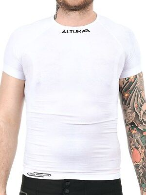Altura White Thermocool Short Sleeved Baselayer Top