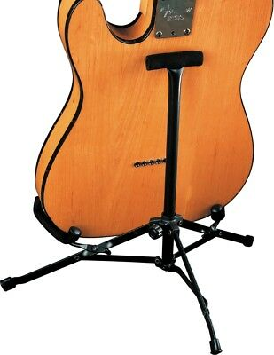 fender electric guitar folding a frame stand