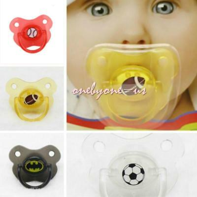 Baby Newborn Silicone Nipple Soother Pacifier Infant Dummy Teether Fun Toys ONE