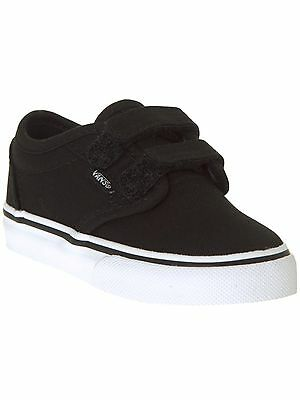 Vans Canvas-Black-White Atwood V Toddlers Shoe