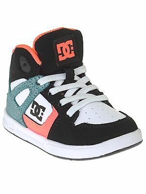 DC Black-Multi-White Rebound - Special Edition UL Toddlers Shoe