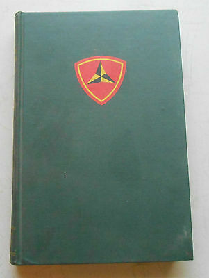 Original Unit History For The Third Marine Division 1st Edition 1948 Good Cond.