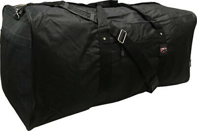 "24/30/36/42"" Black Polyester Square Jumbo Duffel /Cargo Bag / Luggage / Suitcase"