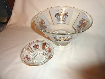 Vintage Anchor Hocking Chip And Dip Set ~ Retro ~ 50's~60's ~