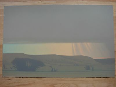 Original RARE signed Russell Chatham print Squall in Late November 1992