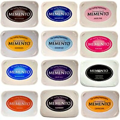~ MEMENTO ~ Ink Pads. Choose your colours. FREE POST! Great with alcohol markers