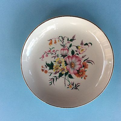 "PIN DISH MYOTT'S ""CHINA-LYKE"" WARE STAFFORDSHIRE England Floral Bouquet Display"