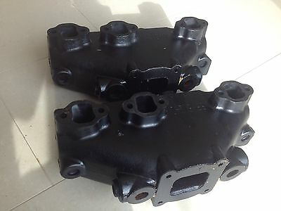 Mercruiser Manifold Set PAIR  V6 In Good Condition. Free Freight/post