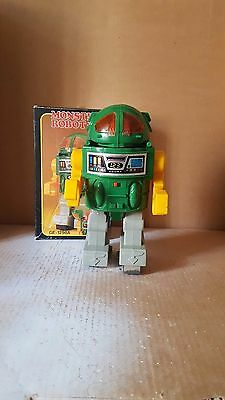 RARE VINTAGE MONSTER ROBOT BATTERY OPERATED MADE IN TAIWAN 1970's GE-1298A
