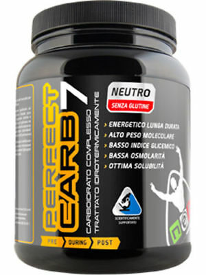 NET INTEGRATORI PERFECT CARB 7 -CARBOIDRATI QUALITA' PRE E POST WORKOUT 600 gr