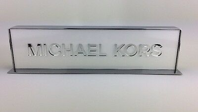 MICHAEL KORS LUXURY Advertising Vendors Logo DISPLAY STAND