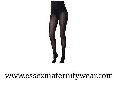 BNWT 50 Denier Maternity Tights Black 2 Pack