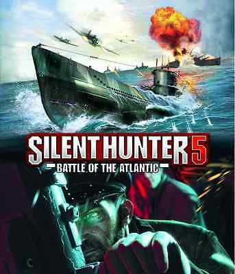 Silent Hunter 5 Battle of the Atlantic Uplay Key VIDEO GAME REGION FREE (NO DISC