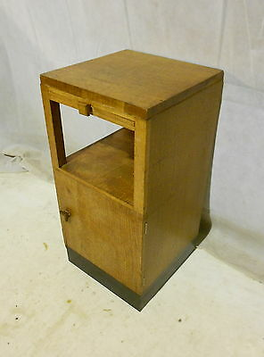 ANTIQUE HIGH ART DECO BEDSIDE CABINET by HAMPTONS OF PALL MALL POT CUPBOARD