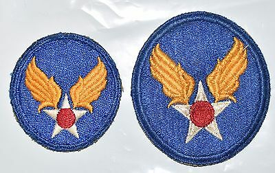 Ww2 Era Us Army Air Force Hq Patch Lot Cut Edge Snowy Back Ssi Small Variation