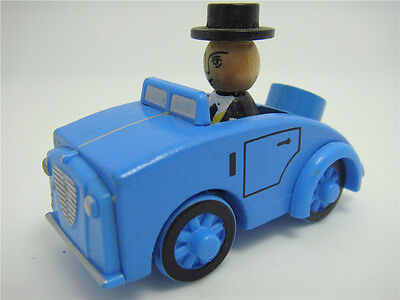 Thomas & Friends Sir Topham Hatt Tank Engine Railway Train Wooden Magnetic Toy