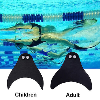 1PC Baby Kids Adult Mermaid Tails Girl Swimmable Monofin Swimming Fin Flippers