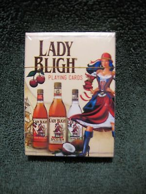 LADY BLIGH SPICED RUM Branded Playing Cards-Breweriana-Tavern-Home-Collectible!!