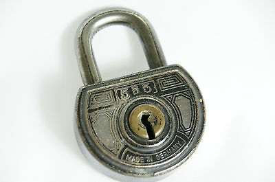"Antique Vintage ABUS ""555"" Lock - Made In Germany"