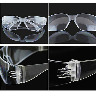 Vented Safety Goggles Glasses Eye Protection Protective Lab Anti Fog Clear Newly