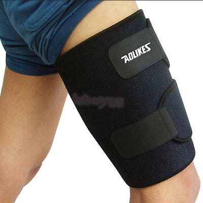Thigh Sleeve Leg Compression Hamstring Groin Support Brace Wrap Bandage