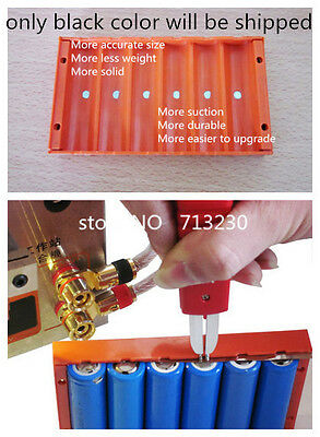 6 Section battery pack Fixture 18650 Strong Magnetic Battery Clamp 18650 battery