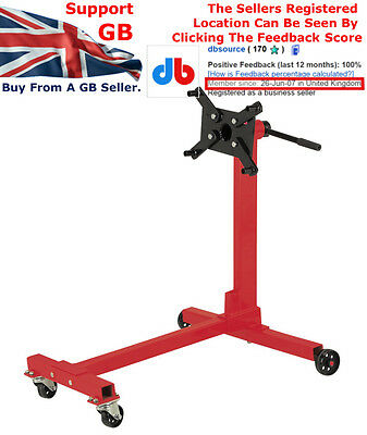 Rocwood Swivel Transmission Gearbox Engine Support Stand 1000 lbs 450kg