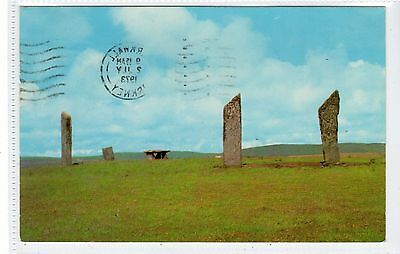 THE STANDING STONES OF STENNESS: Orkney postcard (C20897)
