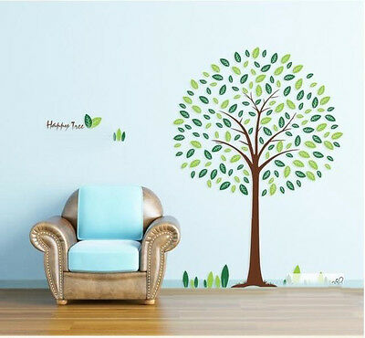 REMOVABLE Large Vinyl For Wall decor Stickers Art Decal Sticker Living Room TREE