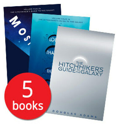 The Hitchhiker's Guide to the Galaxy Collection - 5 Books