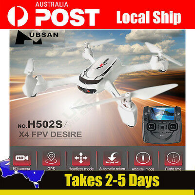 Hubsan X4 H502S FPV 5.8G GPS RC Quadcopter Drone w/720P HD Camera RTF Airplane