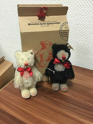 Steiff 655500 Little Blackey & Little Withey.  Mit Ovp !! Top Zustand