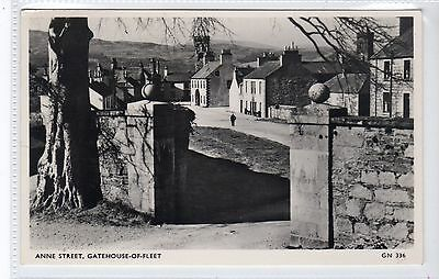 ANNE STREET, GATEHOUSE-OF-FLEET: Kirkcudbrightshire postcard (C20853)