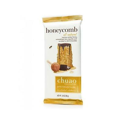 Chuao Chocolatier 900616 Honeycomb Chocolate Bar 6 bars