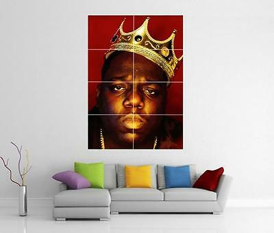 Biggie Smalls Notorious B.i.g Giant Wall Art Photo Picture Print Poster