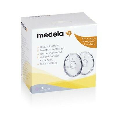 Medela Protect Mother Breast Soft Silicone Pads Nipple Formers