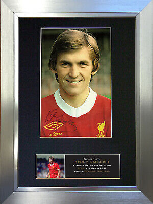 KENNY DALGLISH Signed Autograph Mounted Photo Repro A4 Print 364
