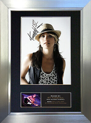 KT TUNSTALL Signed Autograph Mounted Photo Reproduction A4 Print 356