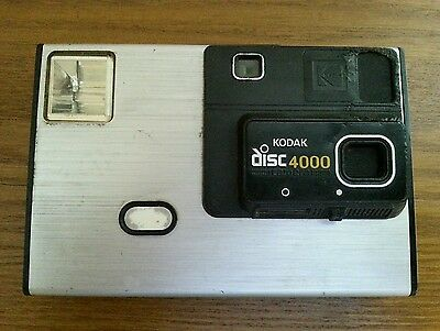 Vintage Kodak Disc 4000 Camera Early 80's FOR PARTS