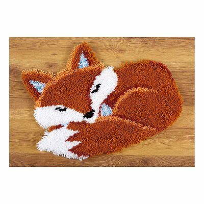Vervaco - Shaped Latch Hook Rug - Sleeping Fox -  PN-0150485