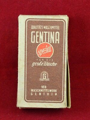 Wehrmacht Wwii German Small Box For Detergent Ration Gentina Rare War Relic