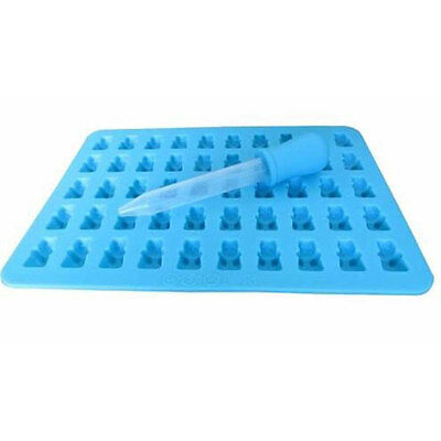 50 Cavities Silicone Bear Designed Gummy Jelly Candy Mold Maker Cookware