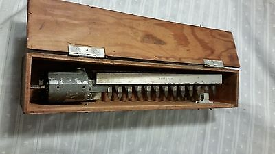VINTAGE Sears Craftsman Hedge Trimmer Attachment in Homemade Wooden Box
